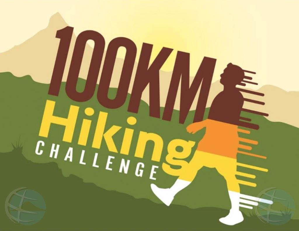 100KM Hiking Challenge ta cla pa start