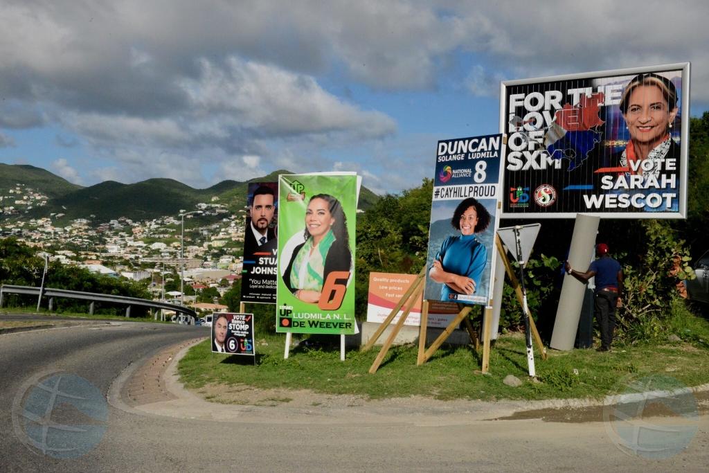 St Maarten ta vota pa un parlamento nobo diahuebs awor