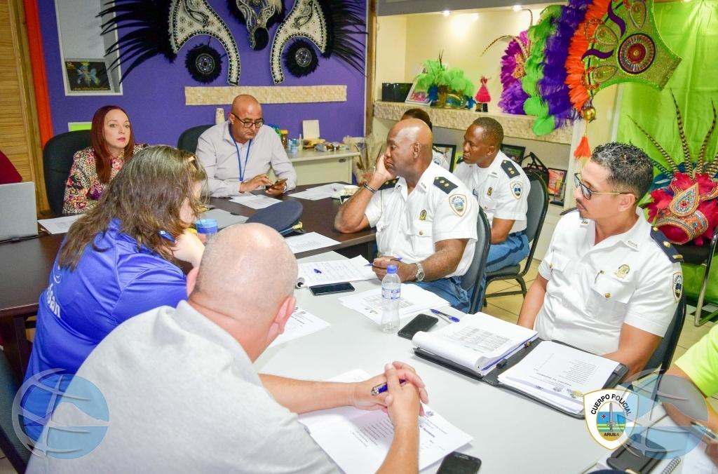 Polis cla pa e actividadnan di Carnival pa cu e fin di siman aki