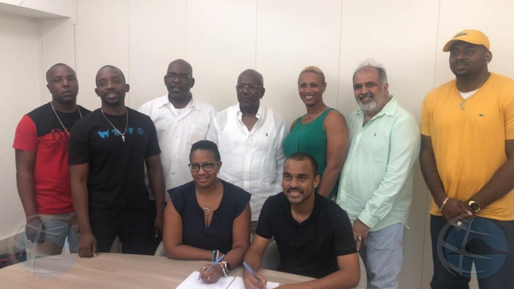 Partido NA y UP a yega na acuerdo pa forma gobierno na St Maarten