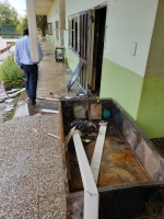 Lokaalnan di Cacique Macuarima School a keda completamente destrui