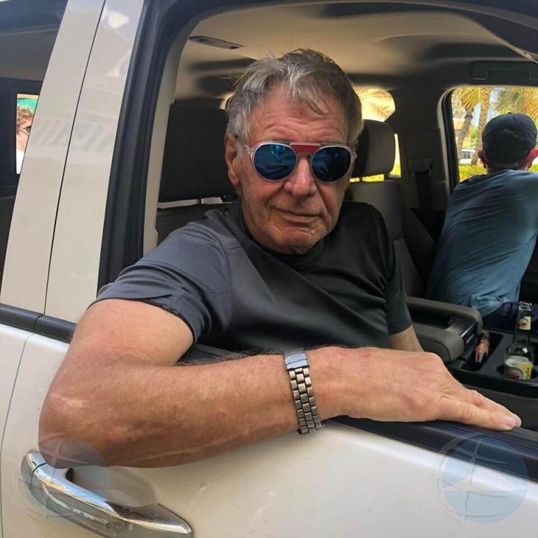 Actor Harrison Ford a scohe Bonaire pa pasa su vacacion