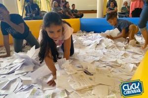 A entrega 21.500 peticion pa reparti 180 kavel