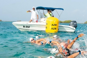 AAF a organisa competencia di open water riba Dia di Betico