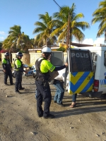 Motorunit a reparti 23 multa di trafico despues di balonnenoptocht