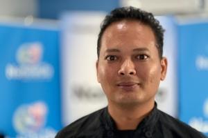 Conocido chef Jason Fun ta invitado den Noticiacla LIVE awe