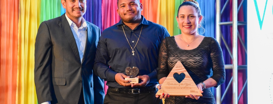 CEDE Aruba a honra 97 Boluntario durante VOTY Award 2019