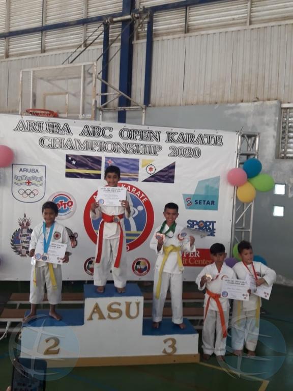 Exitoso Aruba ABC Open Karate Championship