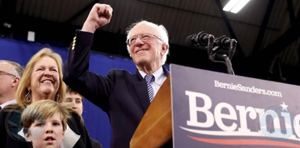 Bernie Sanders a bira 'faborito' pa democratanan pa eleccion presidencial Mericano