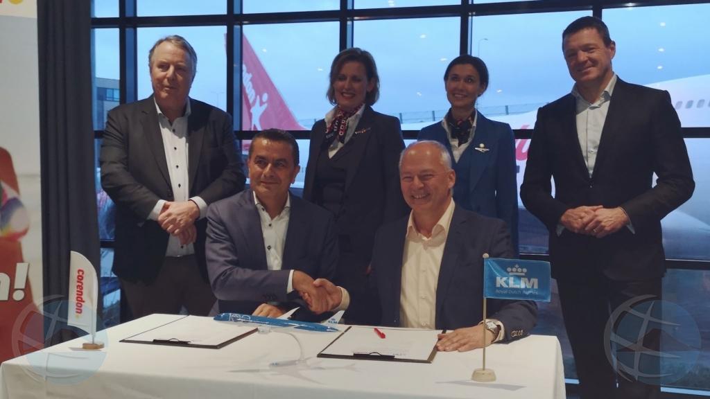 Corendon y KLM ta cera deal di cuart miyon stul pa Corsou