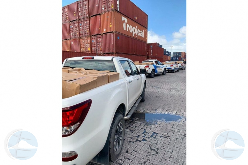 Cantidad masivo di droga confisca riba waf di St Maarten