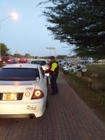 Polis a detene 25 hende despues di Jouvert morning