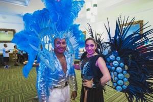 Riu Palace Aruba a celebra carnaval cu empleadonan