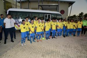 Aruba ta e promer pais den Caribe cu su propio academia di futbol