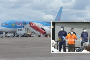 Avion di TUI a trece 10 Arubiano pega na Surnam, bek pa Aruba