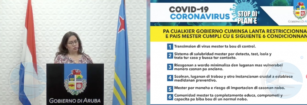 Aruba no ta parce di ta cla pa por lanta restriccion contra coronavirus