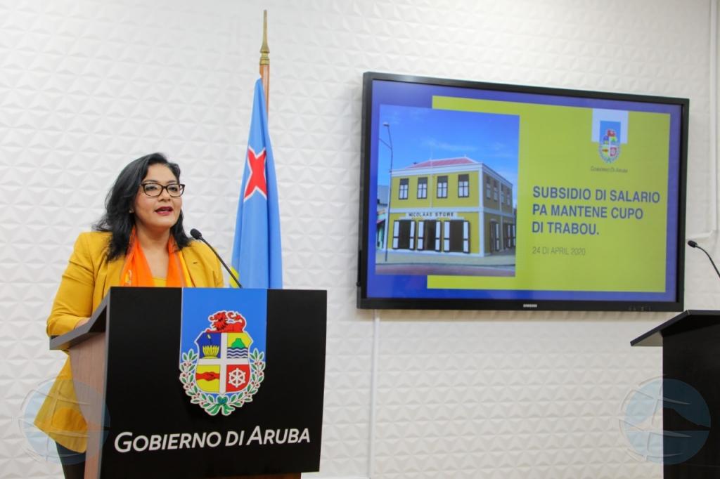 Maduro: E ayudo pa yuda comercio ta pa mantene trahador na trabou cu pago di salario