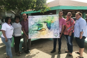 ARTN Photography y SK Click a uni pa proyecto di mosaic pa Aruba