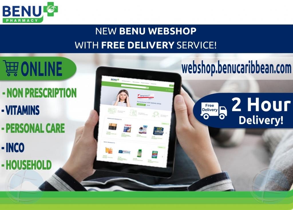 BENU Pharmacy ta introduci nan Webshop Nobo!