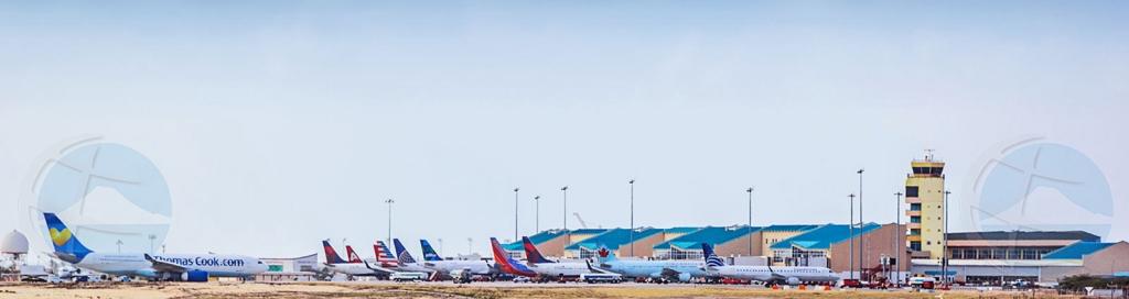 Cuater aeroliña mericano cla pa cuminsa bula pa Aruba