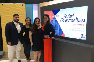 Career IQ: Satisfecho cu e prome cumbre virtual: Restart Conversations
