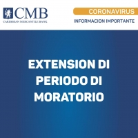 CMB: Extension di periodo di moratorio pa Clientenan Comercial y Personal