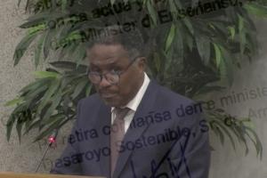 AVP a entrega mocion di desconfiansa contra minister Lampe