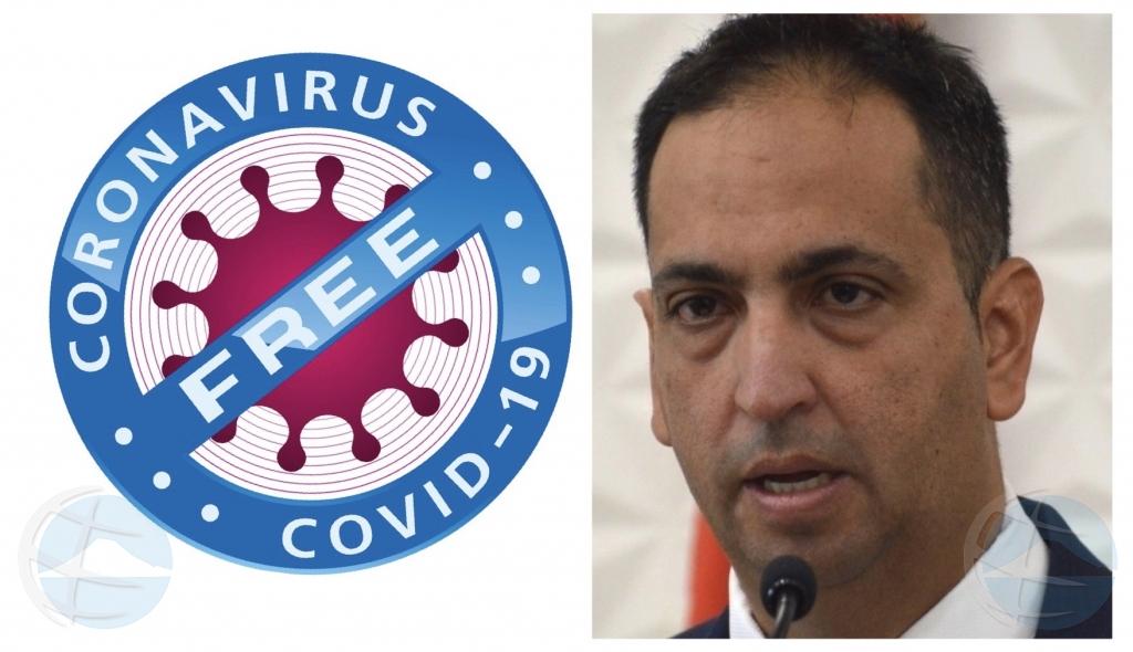 Oduber: Aruba ta COVID free awo cu ultimo pashent a test negativo