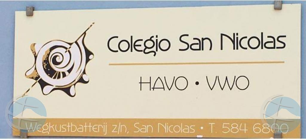 Wever: Colegio San Nicolas no bay cay mas bou di De Schakel