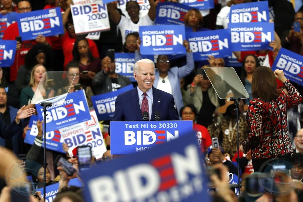 Joe Biden a sigura nominacion Democrata pa eleccion presidencial Mericano