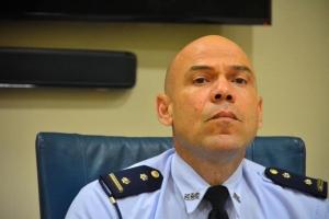 Hefe di polis di Corsou a retira debi cu no a logra mantene orden publico
