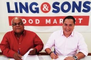 CAO nobo a wordo firma entre Ling & Sons Food Market y FTA