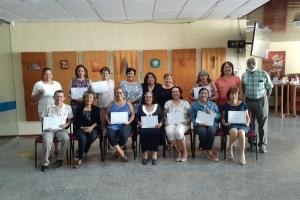 Corectornan di Papiamento a ricibi certificado di Recapacitacion Papiamento