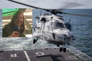 Blackbox di helicopter di Marina Real cu a crash, a keda localisa