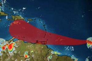 Tormenta tropical Gonzalo a nace y ta bayendo Caribe