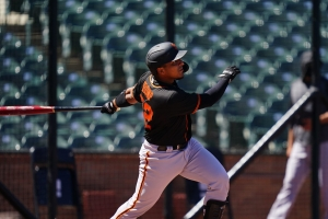 Chadwick Tromp ta hunga su prome wega awe of mayan cu San Francisco Giants