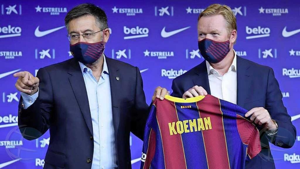 Ronald Koeman a bira e entrenador nobo di FC Barcelona