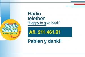 Radio Telethon nacional a genera mas di 200 mil florin