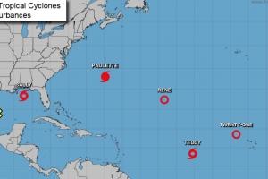 Temporada di horcan 2020 ya a surpasa pronostico cu 4 tormenta