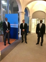 Ministernan Plenipotenciario di Aruba, Corsou y St Maarten a atende Prinsjesdag