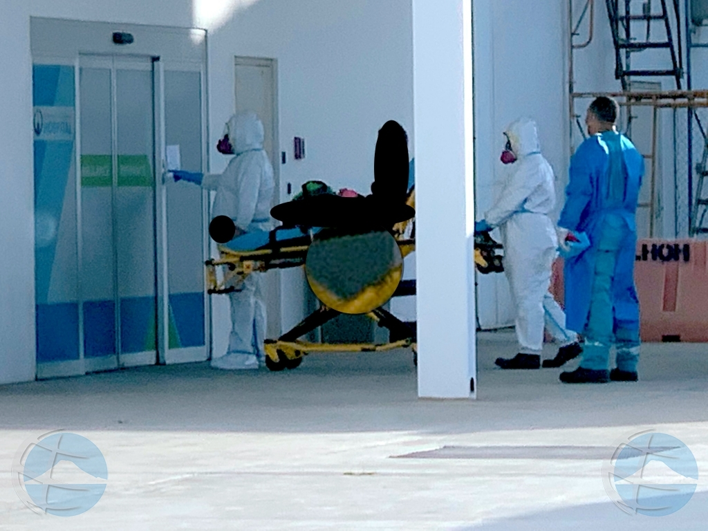 Cantidad mas halto di hospitalisacion pa COVID19 registra awe pa un dia