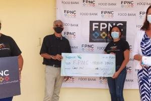 Sagicor cu donacion na famianan cu ta ricibi sosten di FPNC
