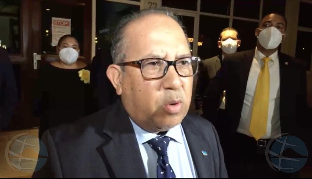 Thijsen: E votacion di mocion di desconfianza contra minister Lopez Tromp ta legal!