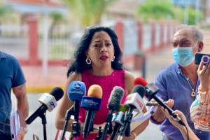 Awe tardi ex minister Marisol Lopez Tromp lo papia riba su retiro