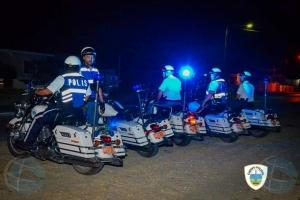 Polis a parti mas di 150 multa di trafico den fin di siman