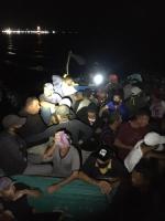 Boto cu 31 persona ilegal intercepta yegando Aruba