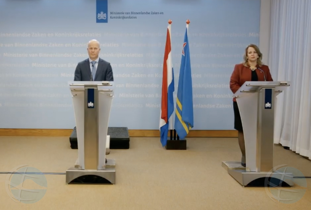 RMR a aproba e acuerdo entre gobiernonan di Aruba y Hulanda