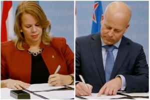 Aruba y Hulanda a firma acuerdo!