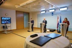 Acuerdo di Landspakket a wordo manda pa Parlamento
