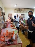 Hilton Aruba Casino ta haci donacion di oranan boluntario na FPNC